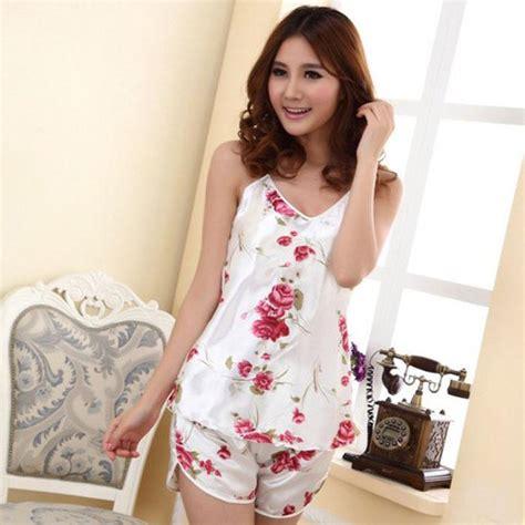 Baju Tidur Pajamas Tsum White New wholesale 2015 sleepwear pajamas print