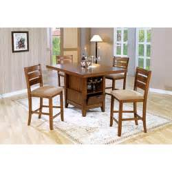 Kitchen Island Dining Set by Counter Height 5 Piece Dining Table Kitchen Island Set