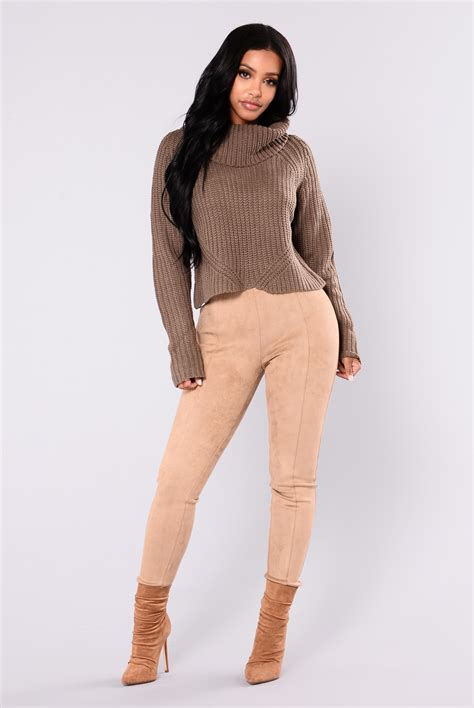 Gray Turtle Neck Top Z006 back at it turtleneck sweater grey