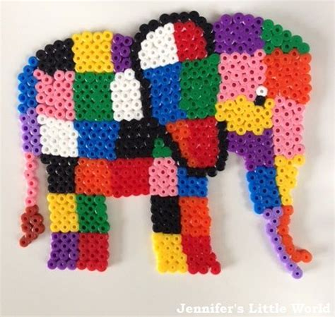 hama bead elephants design remember this and o