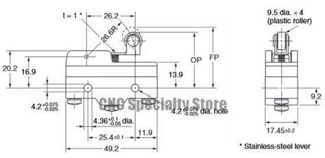 Limit Switch Omron Z 15gw22 B omron z 15gw22 b limit switch
