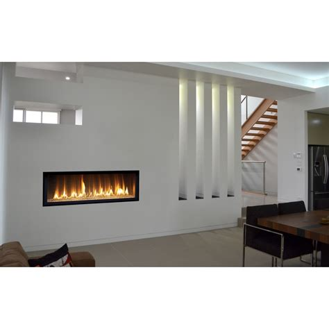 Shallow Gas Fireplace by Interior Extraordinary Living Room Decoration Using