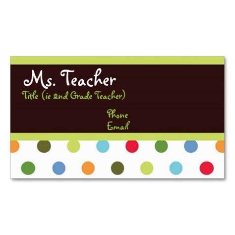 glamorous substitute teacher business card unique cards best