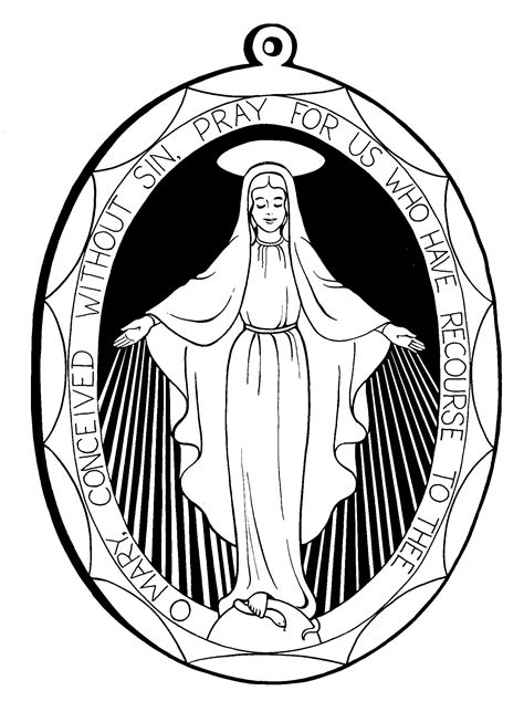 printable coloring pages virgin mary mother mary coloring pages