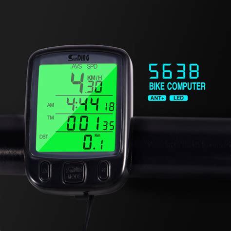 Speedo Meter Sepeda speedometer sepeda backlight lcd sd 563b black jakartanotebook