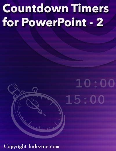 Countdown Timers For Powerpoint Set 2 Longer Countdown For Powerpoint