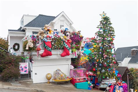 best decorated holiday houses san francisco decorated houses in san francisco psoriasisguru
