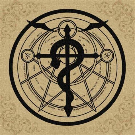 transmutation circle tattoo transmutation circle fullmetal alchemist