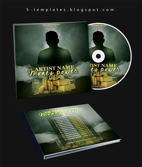 cd cover template psd free the power mixtape cd cover free psd template by klarensm