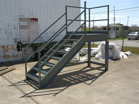 Platform Stairs Design Industrial Stairway And Platform Discount Industrial Stairs Custom Industrial Stairways