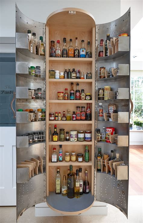 Kitchen Cupboard Designs by Ingenious Hand Crafted Kitchens From Johnny Grey