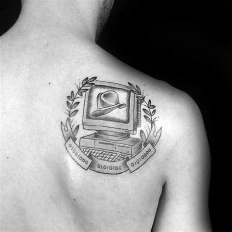 computer tattoos 50 computer designs for technology ink ideas