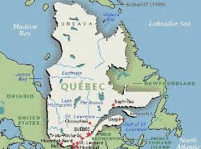 montreal on a map of canada maps of montreal