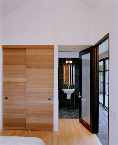 Modern Bathroom Door Closet Doors Sliding Bathroom Contemporary With Bath Sink