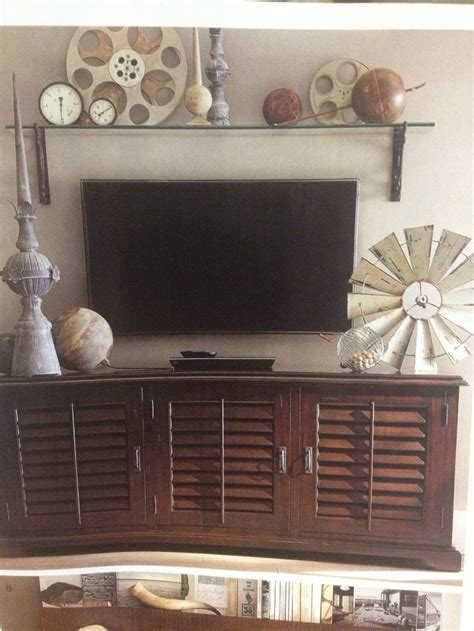 tv wall decor ideas tv wall decor potterybarn house ideas pinterest