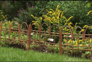 Fencing Ideas For Small Gardens Garden Fence Ideas Design Home Designs Project