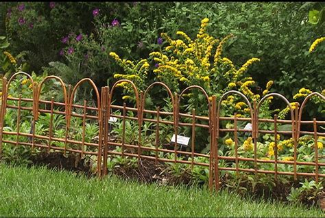 Decorative Garden Fencing Ideas Garden Fence Ideas Design Home Designs Project
