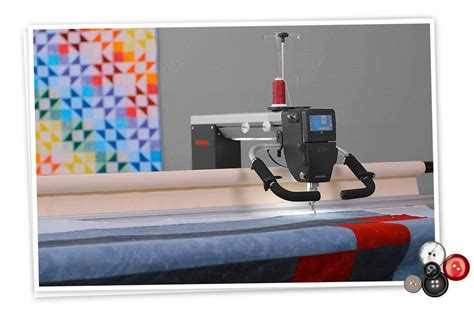 bernina q24 arm quilting machine with frame sewing