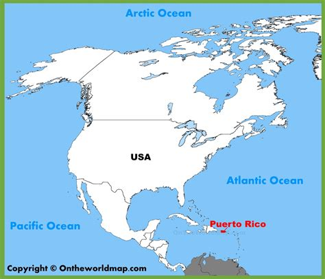 map of the united states and puerto rico map of puerto rico and united states washington dc map