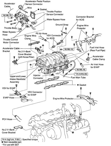 1uzfe parts diagram wiring diagram schemes
