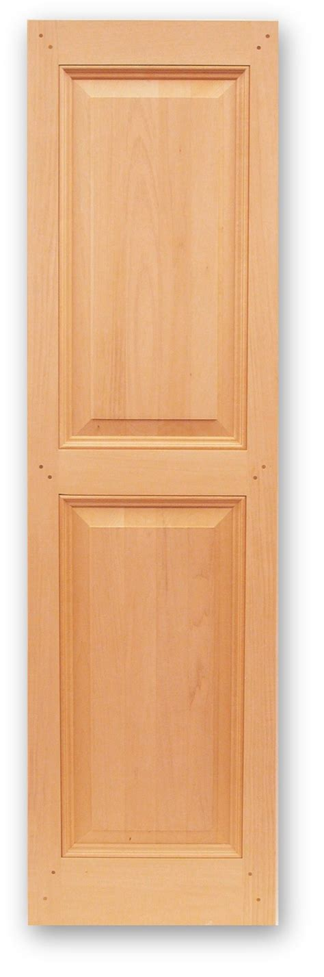Interior Raised Panel Shutters by Panel Shutters