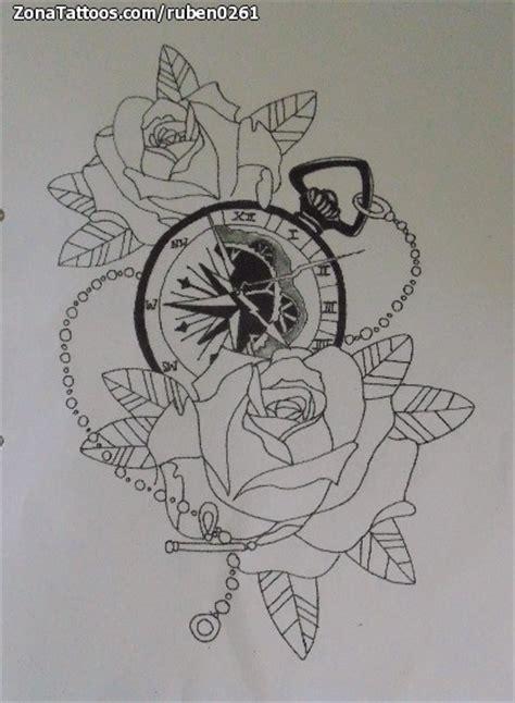 dise 241 o de relojes rosas flores