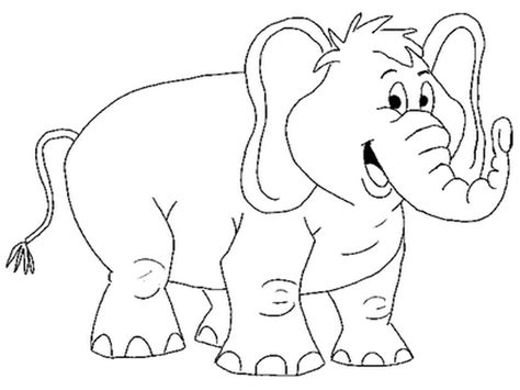 elephant coloring pagesfree coloring pages for kids free