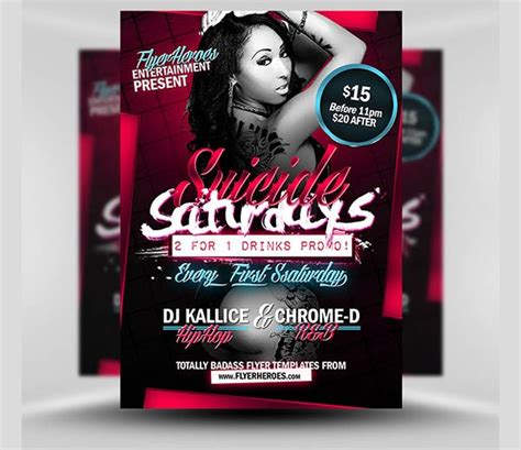 club flyer templates madinbelgrade