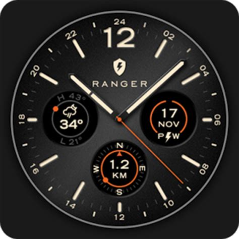 ranger military watch face android apps on google play