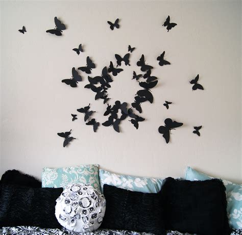 butterfly home decor girly butterfly decorations ideas for wall bedroom the