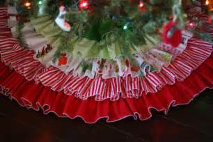 ruffled tree skirt pretty prudent