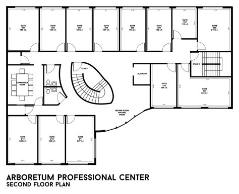 floor design plans building floor plans arboretum professional center