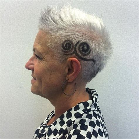 shaved haircuts for older women 60 cute short pixie haircuts femininity and practicality