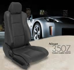 350z Seat Covers Z Logo Nissan 350z Katzkin Leather Seat Upholstery Kit Shopsar