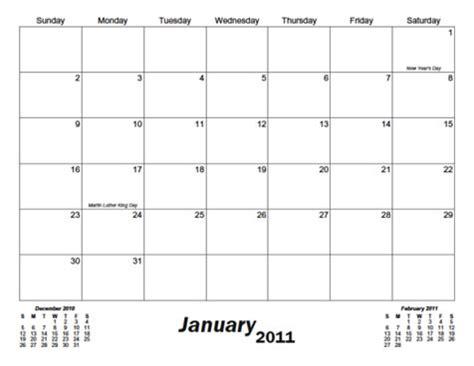 blank 31 day calendar | calendar template 2018