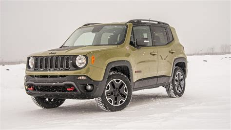 2015 Jeep Renegade Trailhawk Price 2015 Jeep Renegade Trailhawk Winter Drive Review Jeep