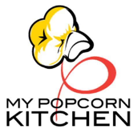 Design Kitchen Chicago logo design gourmet popcorn store logo design