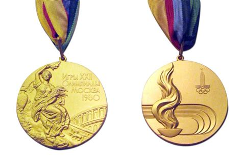 gold medal pattern 1980 moscow olympic medals olympic medals pinterest
