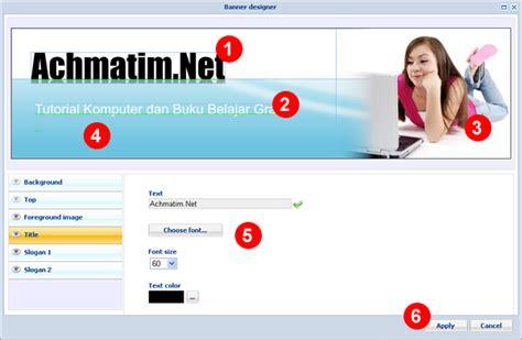 membuat header wordpress dengan mudah membuat template website dengan mudah dan cepat achmatim net