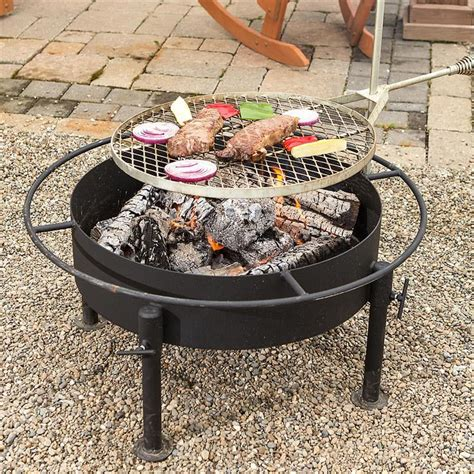 Firepit Grille Types Of Pit Grills Pit Design Ideas