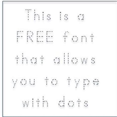 printable dashed letters free abc print dotted font fonts4teachers