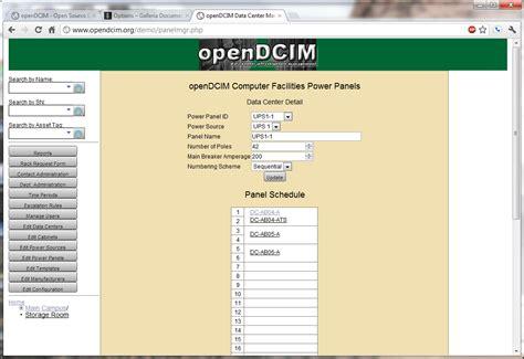 Http Mba Org Vcf opendcim screenshots