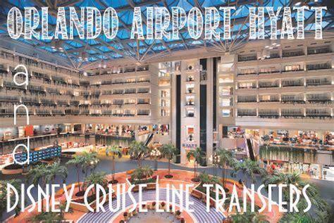 hyatt mco and disney cruise line transfers • disney cruise