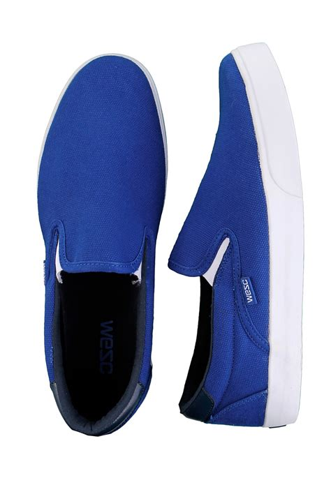 royal blue shoes wesc luiz royal blue shoes impericon uk