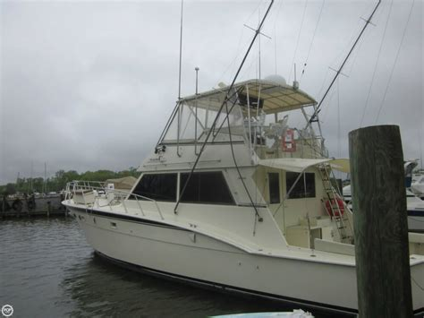 sport fishing convertible boats 1982 used hatteras 55 convertible sports fishing boat for
