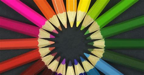 gambar gambar pensil warna cantik wallpaper