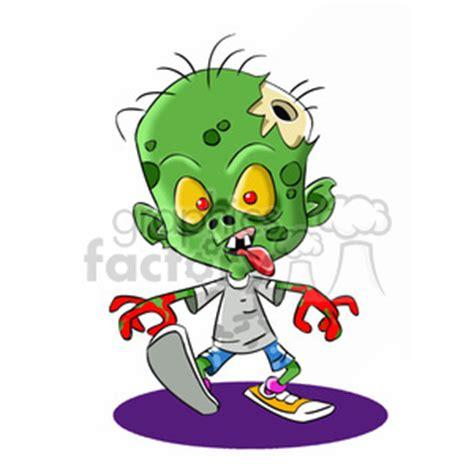 royalty free zombie child cartoon 393274 vector clip art