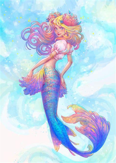 mermaid colors best 25 watercolor mermaid ideas on mermaid