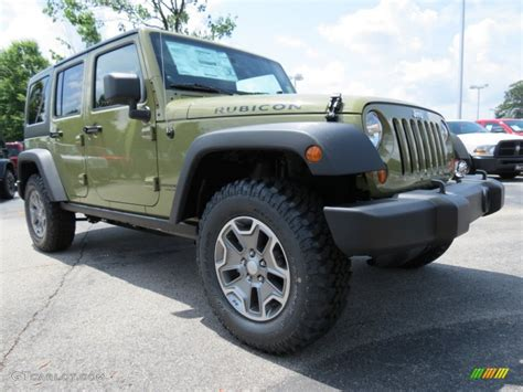 commando green jeep commando green 2013 jeep wrangler unlimited rubicon 4x4