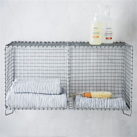 Mesh Shelf by Wire Mesh Storage Hanging Shelf Industrial
